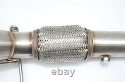 1320 Performance 12-15 civic SI 13-15 ILX megaphone race header 3 HFC catalytic
