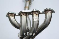 1320 Performance B series Toda header only tig welded extra o2 bung gsr si ls
