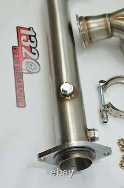 1320 Performance B series UEL Twister header with 2.5 Magnaflow cat b16 b18 b20