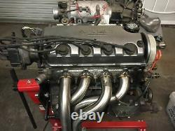 1320 Performance D series 4-1 Randy Monroe Race header & TP D15 D16 D16z6 D16y8