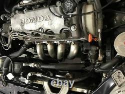 1320 Performance D series Toda header only D15 D16 D16z6 D16y8 SOHC EG EK