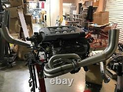1320 Performance J series hood exit race header 92-00 civic 94-01 integr J32 J35