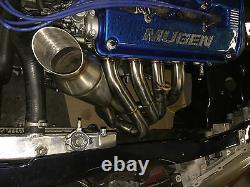 1320 Performance Megaphone Race header Hood exit GSR ITR b16 b18 b18b b18c1 b18c