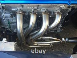 1320 Performance Megaphone Race header Side exit b16 b18 b18b b18c1 b18c BLEMISH