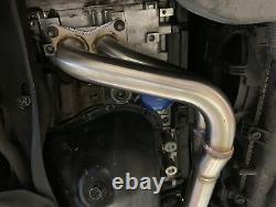 1320 Performance Stainless steel UEL Header IMPREZA 2.5 RS 97-05 GC8 2.5rs Baja