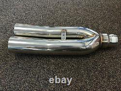 1320 Performance Ver 3 Blastpipes blast pipe exhaust STAINLESS UNIVERSAL MUFFLER