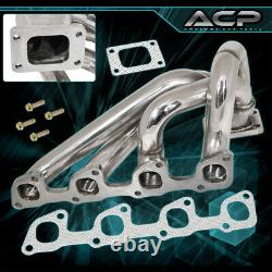 1974-1993 Volvo 240 740 940 2.3L Engine Exhaust Turbo Charger Manifold Stainless