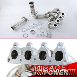4-1 Performance Exhaust S/S Header Manifold For 88-00 Honda Civic D15 D16 SOHC