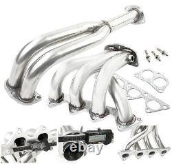 89-94 Eclipse/talon/laser 1g Nt/na 4g63 4-2-1 Stainless Steel Exhaust Header