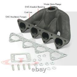 B-Series B16 B18 Cast Iron JDM Top Mount Manifold For Civic EF EG EK Integra DC2