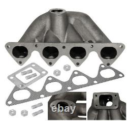 B-Series B16 B18 Cast Iron Top Mount Manifold For Civic Ef Eg Ek Integra Dc2