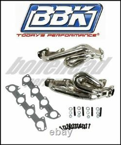 BBK Performance 4009 Chrome Short Tube Headers 2004-2008 Dodge Ram Hemi 5.7L
