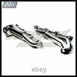 BBK Performance 4012 Chrome Short Tube Headers 05-12 Chrysler Dodge Hemi 5.7L