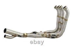 BMW S1000RR Performance De Cat Exhaust Collector Downpipes Race Headers 17-18