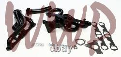 Black Performance Exhaust Header Manifold System 96-97 Camaro/Firebird LT1 5.7L