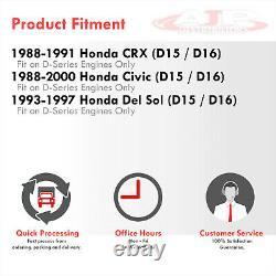 Cast T25 Turbo Manifold Performance Upgrade For 1988-2000 Honda Civic D15 D16