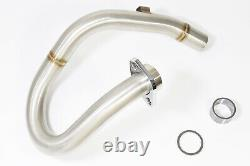 DRZ 400 S/SM Performance Exhaust Header Front Pipe