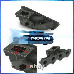 For 00-05 Mitsubishi Eclipse 4G64 T3/T4 Turbo Cast Iron Manifold Wastegate Port