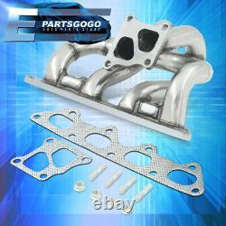 For 03-06 Mitsubishi Lancer Evolution 7 8 9 4G63T Turbo Manifold Header Exhaust
