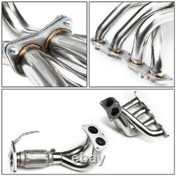 For 03-07 Honda Accord 2.4 K24a4 T-304 Stainless Performance Header Exhaust