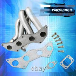 For 05-10 Scion tC 2AZFE S/S T3 Performance Turbo Exhaust Header Manifold Chrome