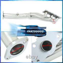 For 06-13 BMW E82 E90 E92 128i 328i N52 I6 Steel Performance Exhaust Headers Kit