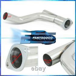 For 07-13 Chevy Silverado Sierra 4.8 5.3 6.0L V8 Steel Exhaust Long Tube Headers