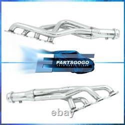 For 09-18 Dodge Ram 1500 5.7 HEMI V8 Steel Exhaust Performance Long Tube Headers