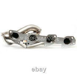 For 09-18 Dodge Ram 1500 5.7 HEMI V8 Steel Exhaust Performance Shorty Header Kit