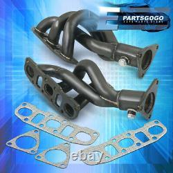 For 09-20 370Z Z34 / 08-13 G37 Vq37Vhr 2Pc Gunmetal Exhaust Performance Header