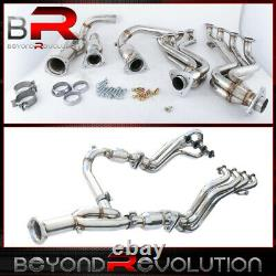 For 1999-2005 Chevrolet / Gmc Pickups Suvs Racing S/S Manifold Header + Y-Pipe