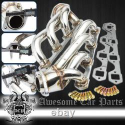 For 79-93 Ford Mustang 5.0L 302 Stainless Steel Racing Manifold Shorty Header
