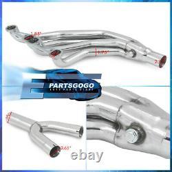 For 82-92 Chevy Camaro Firebird SBC 5.7L L98 V8 Steel Exhaust Long Tube Headers