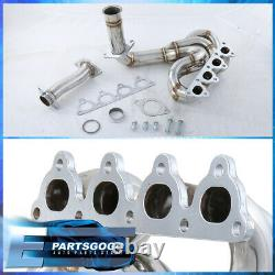 For 88-00 Civic CRX DelSol D-Series SOHC JDM Performance Exhaust Header Manifold