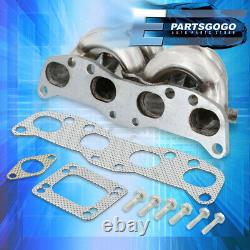 For 89-98 Nissan 240SX S13 S14 CA18 T3 Top Mount Turbo-Charger Exhaust Manifold