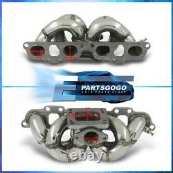 For 89-98 Nissan 240SX S13 S14 SR20DET SR20 T3/T4 Steel Turbo Exhaust Manifold