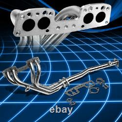 For 90-95 4Runner/Pickup 2.4 Stainless Steel Performance Header Manifold Exhaust