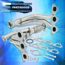 For 91-99 3000GT / 91-96 Stealth 3.0 6G72 N/A V6 Stainless Racing Exhaust Header