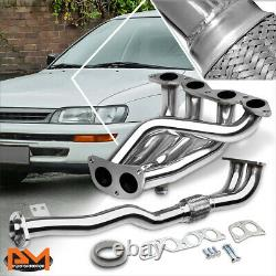 For 93-97 Corolla 1.6L 4A-FE Stainless Steel Performance Exhaust Header Manifold