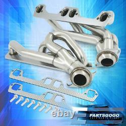 For 94-02 Dodge Ram V8 5.2L/5.9L V8 Exhaust Header Stainless Steel WithO Egr Valve