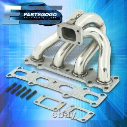 For 94-05 Mazda Miata Mx5 1.8L T2 T25 T28 Stainless Steel Exhaust Turbo Manifold