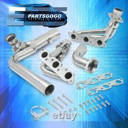 For 95-02 Chevy Camaro Firebird L36 3.8 V6 Steel Performance Exhaust Headers Kit
