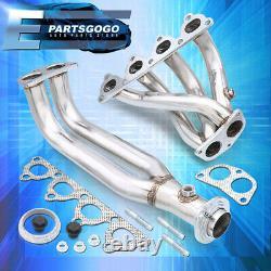 For 96-00 Civic Ek D-Series Sohc 4-2-1 Stainless Steel Exhaust Header Manifold