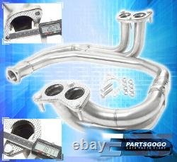 For 97-05 Subaru Legacy/Impreza Wrx Rs 2.5L Stainless Steel Header Exhaust 98 98