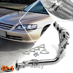 For 98-02 Honda Accord 2.3L F23 4CYL CG Performance 4-1 Exhaust Header Manifold