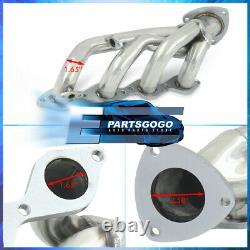For 99-05 Chevy Silverado Sierra 4.8L 5.3L Steel Exhaust Racing Header Manifolds