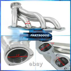 For Chevy 396 402 427 454 502 Big Block V8 Steel Exhaust Racing Header Manifolds