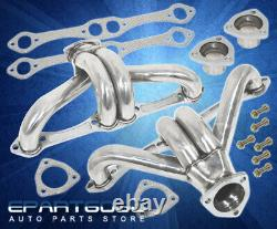 For Chevy Sbc Small Block Hugger 350 305 327 T304 Stainless Performance Header