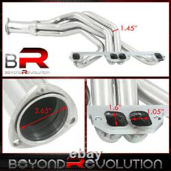 For Dodge Plymouth 2/4WD Truck 318 360 V8 Performance Full Length Header Exhaust