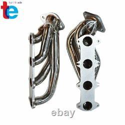For Ford 04-10 F150 5.4L V8 Performance Stainless Exhaust Manifold Shorty Header